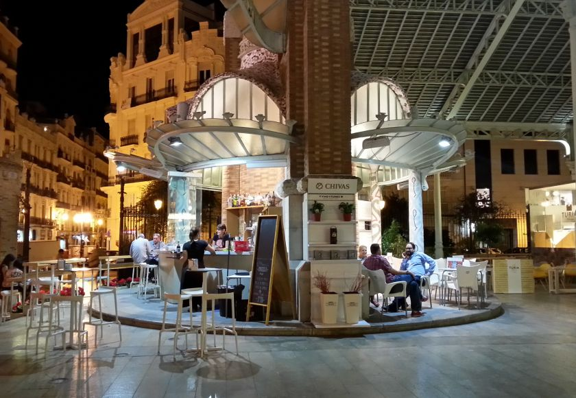 mercado colon, valencia