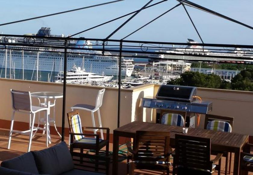 penthouse apartment, palma