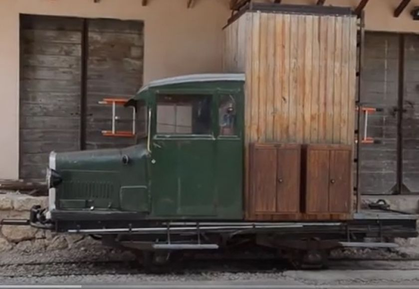 hispano suiza rail trolley, soller
