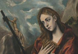 mary magdalen by el greco