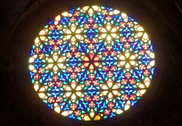 palma cathedral rose window