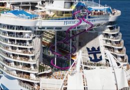 harmony of the seas waterslide