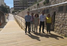 palma councillors open beach access